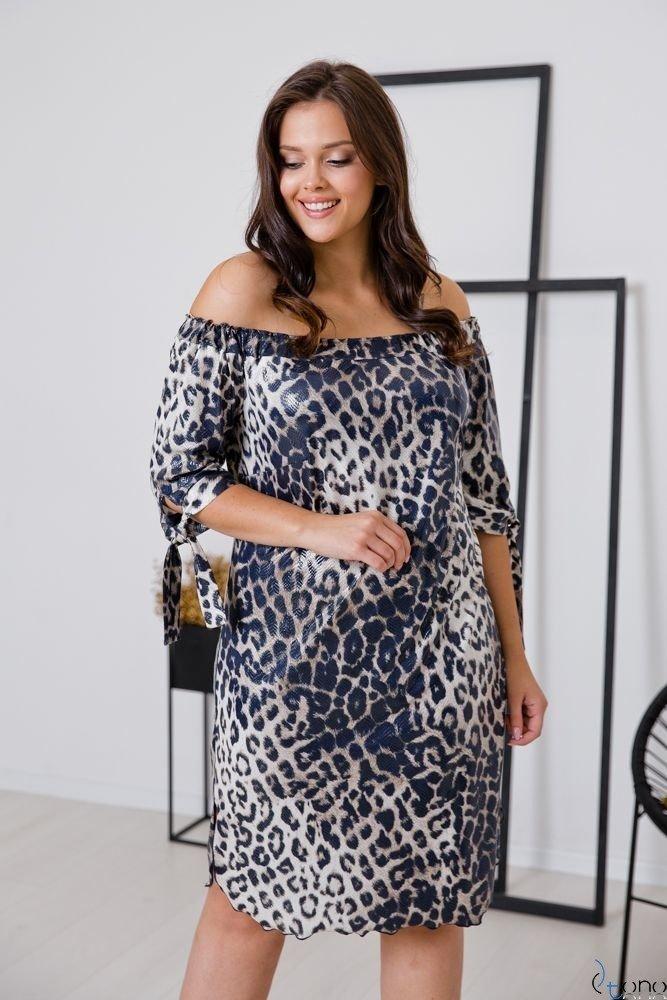 Sukienka SNAKE Plus Size Wzór 4