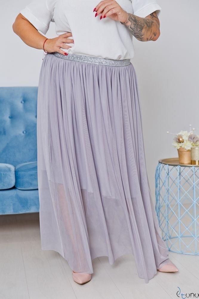 Szara Spódnica VIMMI Plus Size