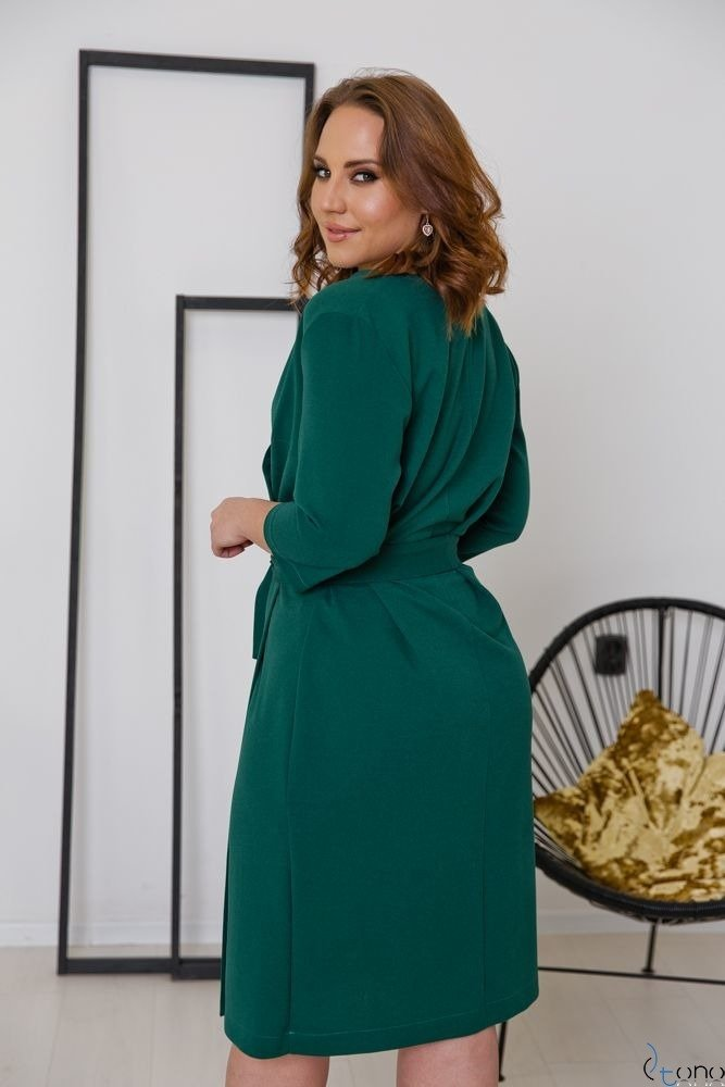 Zielona Sukienka MAVITA Plus Size