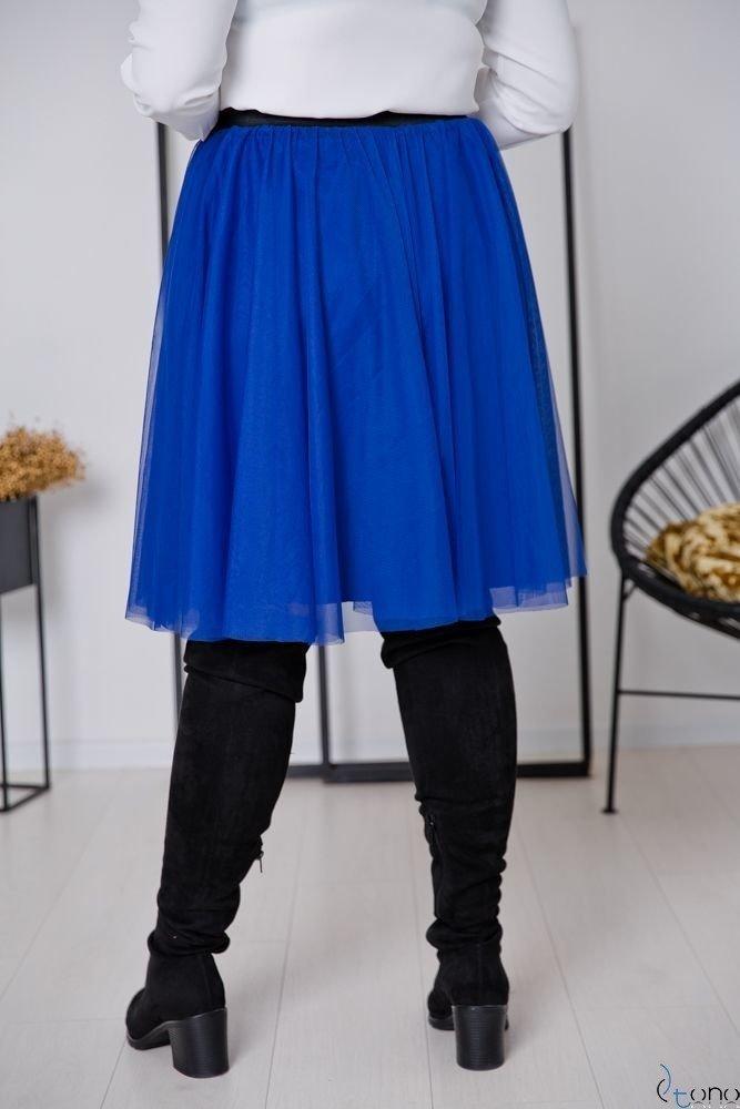Chabrowa Spódnica FERRY Plus Size