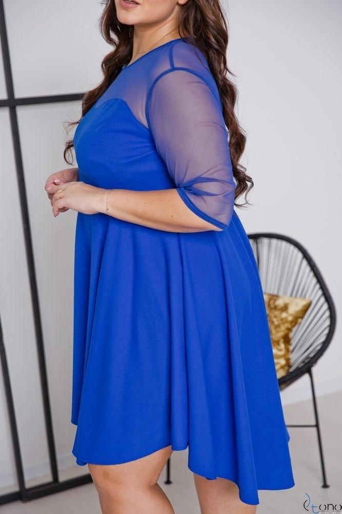 Chabrowa Sukienka VELOSIA Plus Size