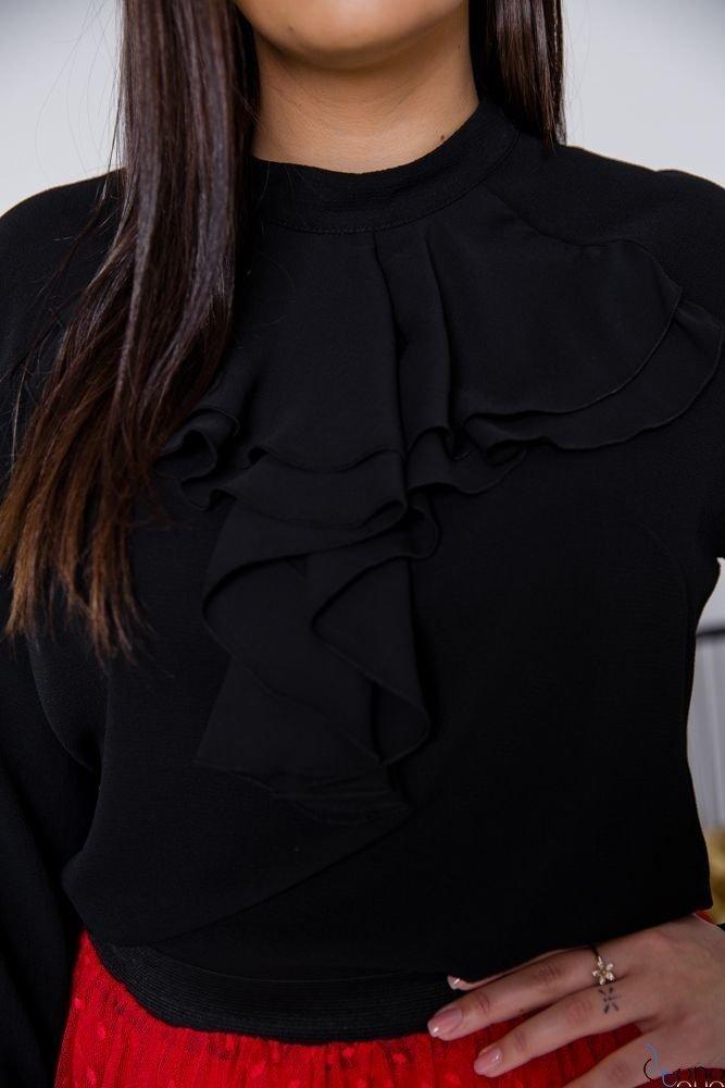 Czarna Bluzka LORY Plus Size