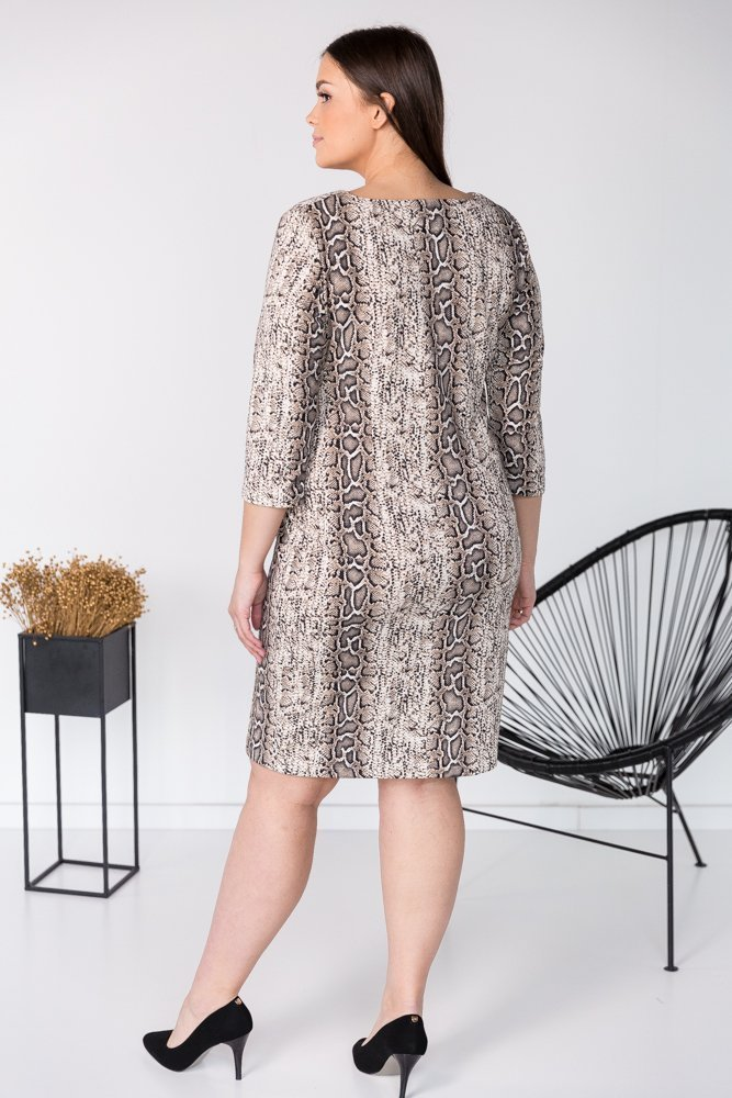 Sukienka BRECIA Plus Size Wzór 2