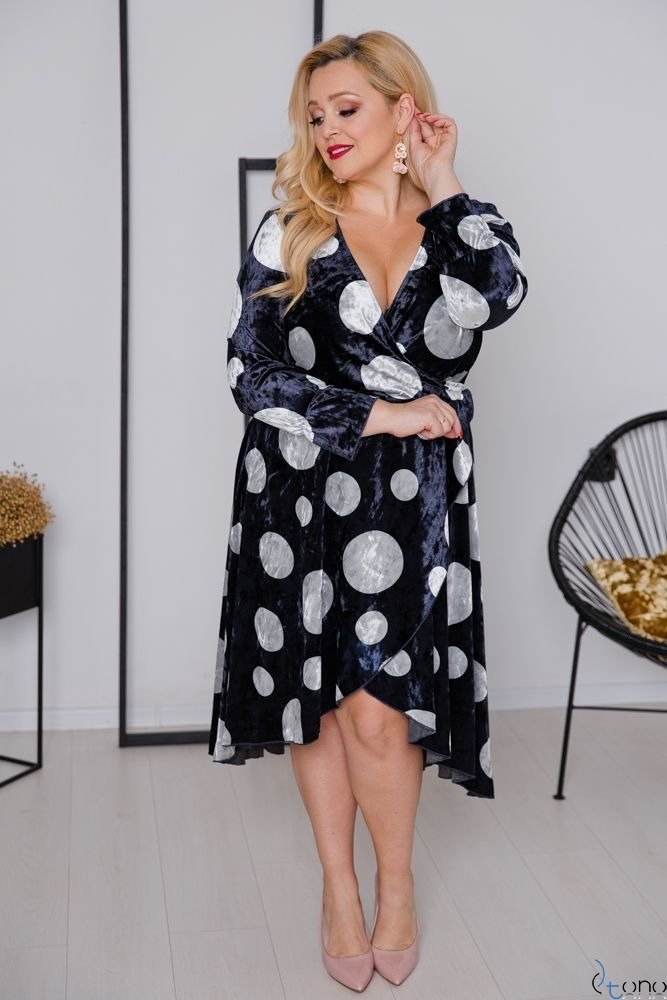 Sukienka RETTA Plus Size Wzór 3