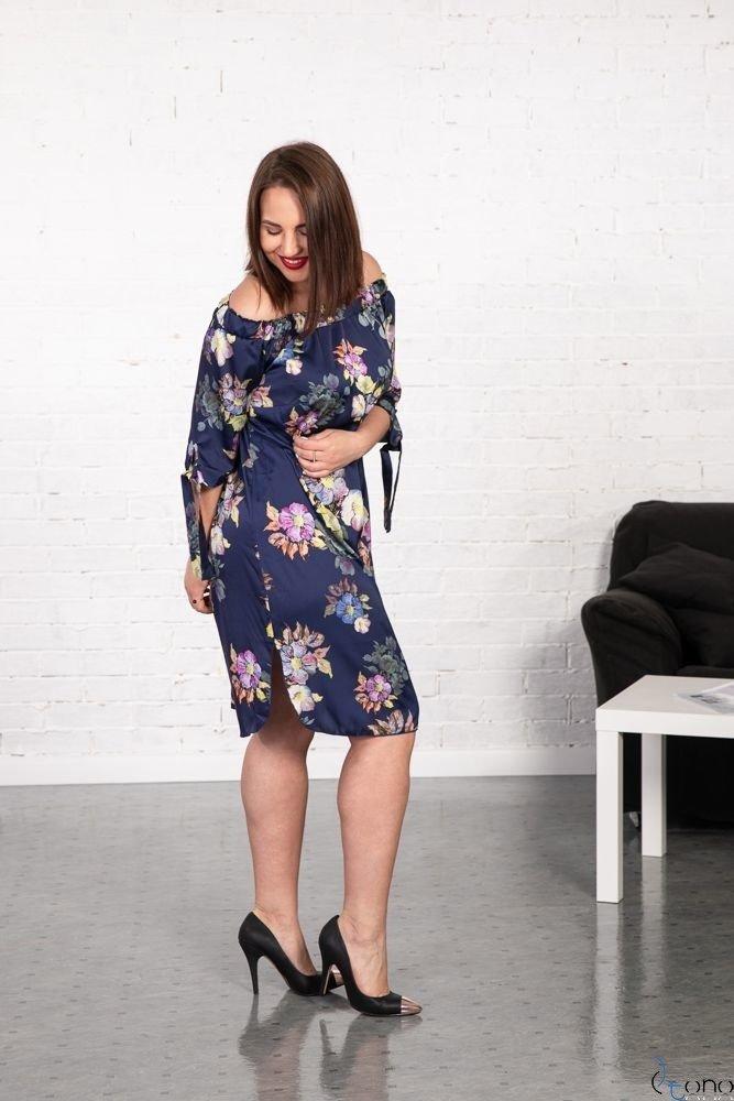 Sukienka VALENCIA Hiszpanka Plus Size Wzór 5