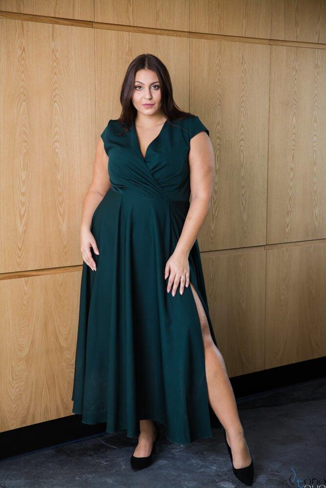Zielona Sukienka LOREDANA Plus Size