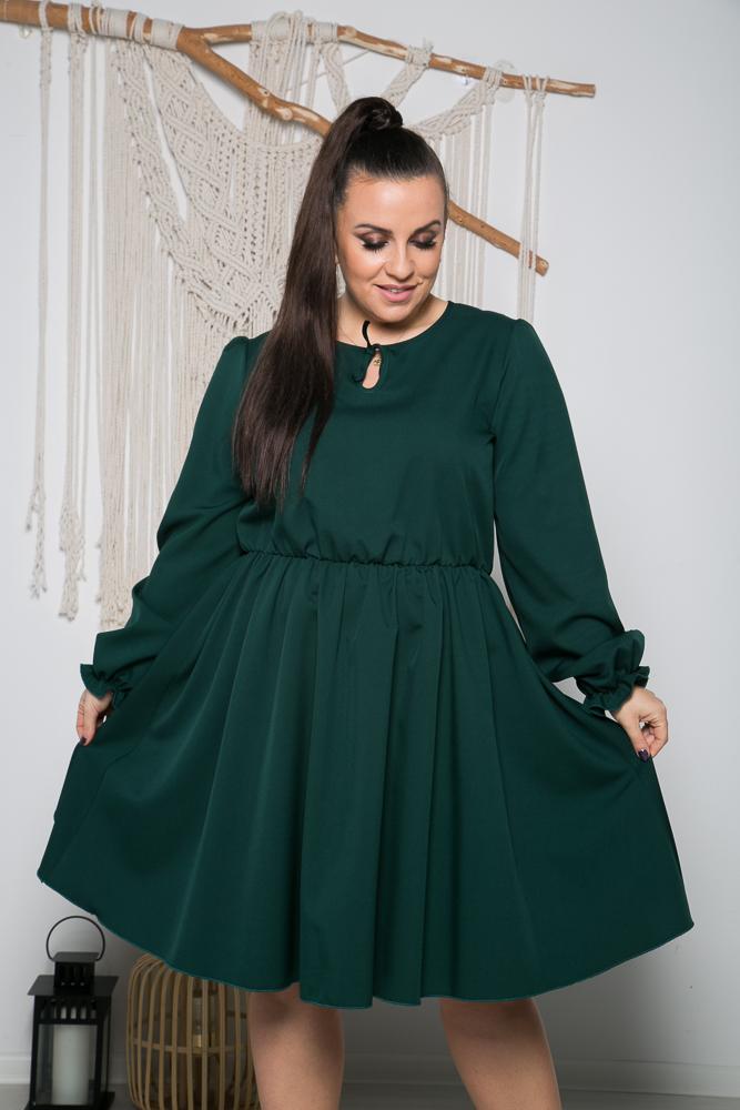 Zielona Sukienka LUKIA Plus Size