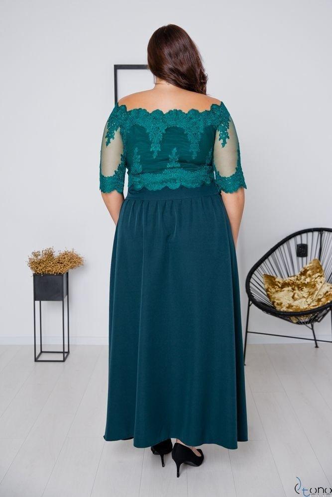 Zielona Sukienka VITTORIA Plus Size